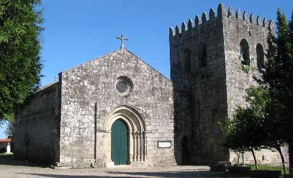 Igreja de Santa Maria do Abade de Neiva